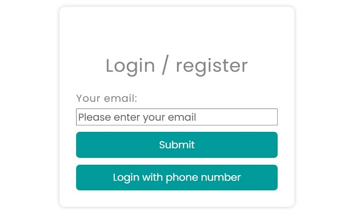 how to login phone number
